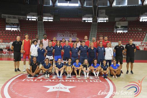 FOTO. Grande successo a Varese per il raduno delle squadre nazionali dei sordi di basket e volley