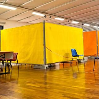 Gli spazi del Museo del Tessile già utilizzati per i vaccini antinfluenzali