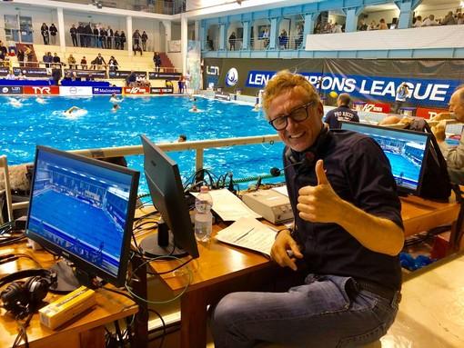Il giornalista SkySport Daniele Barone