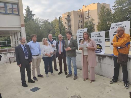 """«Vigili di quartiere e sicurezza nelle castellanze». Dalle Bustecche la proposta """"Per una Grande Varese"""""""