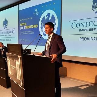 VIDEO. Rudy Collini è il nuovo presidente di Uniascom Varese: «La parola d'ordine è lavorare insieme»