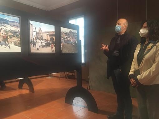 Alcune immagini della presentazione del Festival fotografico europeo con Argentiero e Maffioli