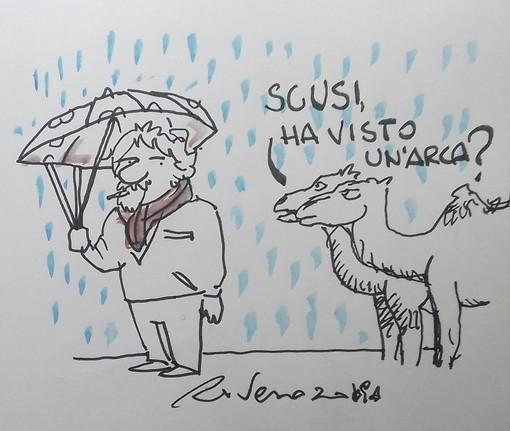 La vignetta di Tiziano Riverso