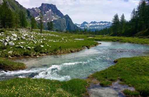 «Aria e acqua»: buona domenica dall'Alpe Devero, uno dei luoghi più amati da tutti i varesini