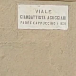 La Famiglia Bosina racconta viale Giambattista Aguggiari. Tutto nacque da una salita al Santuario delle Romite nel 1.603