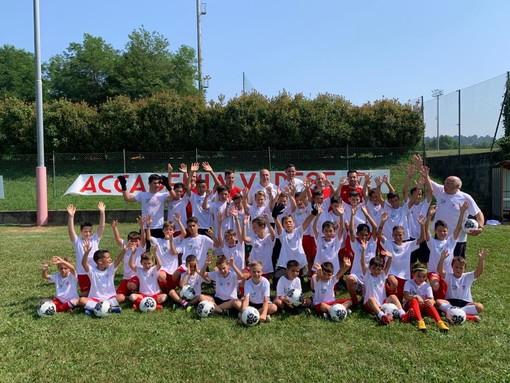 FOTO E VIDEO. Sogliano-Neto, l'Accademia riaccende l'amore per il calcio a Varese. «Sono ringiovanito di 15 anni... stesso entusiasmo... bei tempi... speriamo»