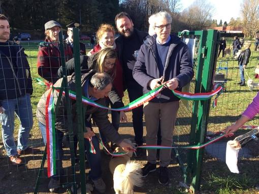 FOTO. Code in festa a Varese per l'inaugurazione del Parco della Banda Biscotti