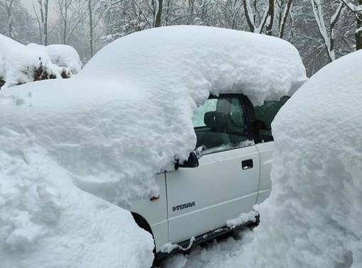 FOTO. Il Campo dei Fiori come una favola, sepolto da un metro di neve