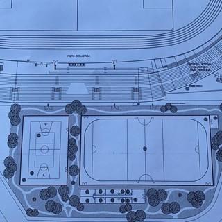 Proposta del Varese per l'antistadio: «Pista del ghiaccio 60x30, niente campi da padel ma palestra e campo da basket. E da primavera 2022, terreno a 7 o due a 5»