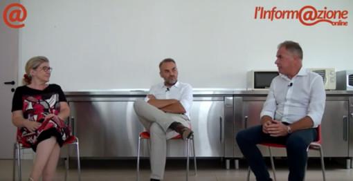 Il direttore generale Alessandro Valtolina e il presidente Franco Castiglioni intervistati da Marilena Lualdi