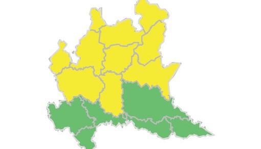 Allerta gialla per temporali forti: da oggi su laghi e Prealpi, domani in tutta la provincia
