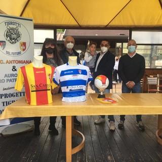La presentazione della collaborazione sportiva tra Pro Patria e Antoniana