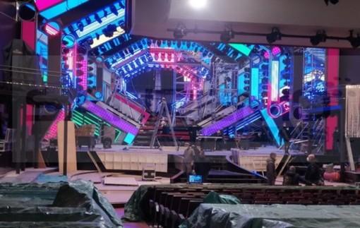 71° Festival di Sanremo: in anteprima dal Teatro Ariston le prime immagini del palco (Foto)