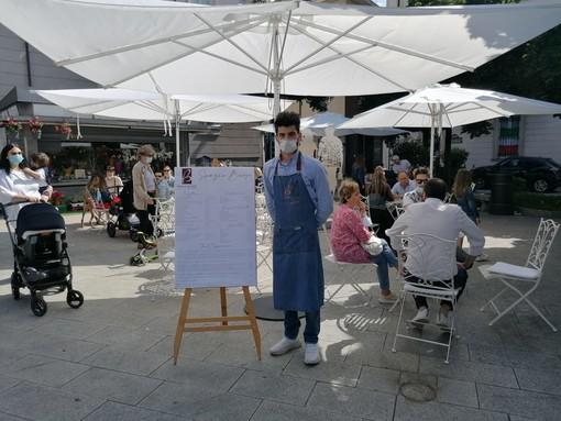 Buosi trasforma piazza Beccaria in un nuovo angolo romantico di Varese