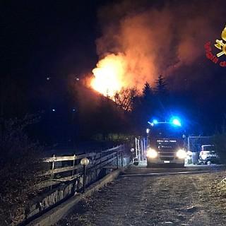 Clima secco e vento forte: la Protezione civile lancia l'allerta incendi per i nostri boschi