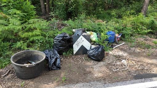 Ancora controlli al Parco Pineta: in campo anche i volontari per rimuovere bivacchi e rifiuti