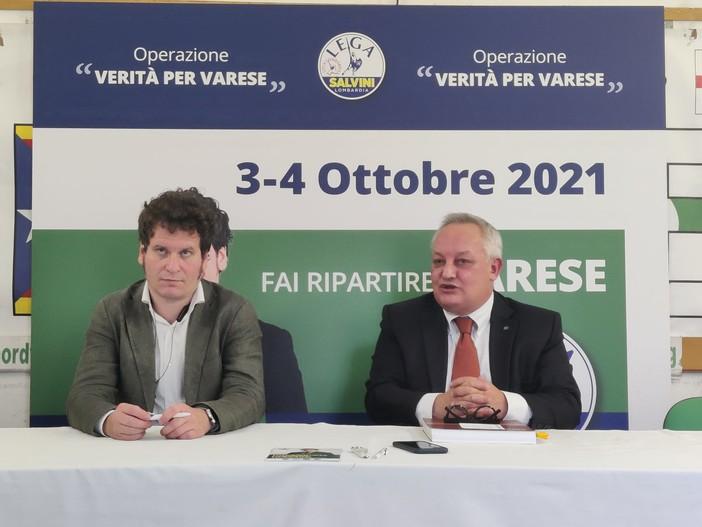 L'assessore regionale alla Cultura a Varese: «Lavori all'ex Caserma in ritardo. Sono preoccupato per l'Archivio del Moderno»