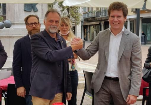 VIDEO. Il ministro Garavaglia a Varese: «Con Bianchi vinciamo e poi facciamo filotto»