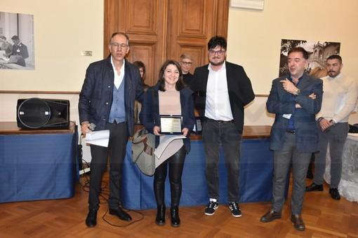 Festival di Sanremo: applausi e premio a una tradatese per il suo bouquet (Foto e Video)