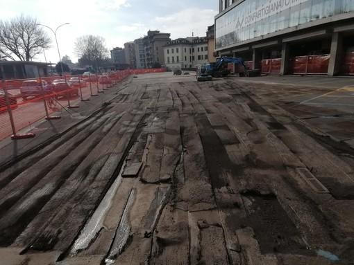 Cantiere fermo in viale Milano, commercianti preoccupati: «In un mese abbiamo già perso il 50% del lavoro»