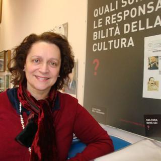 La dirigente del liceo Crespi Cristina Boracchi (foto dal sito della scuola)