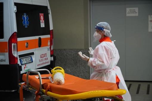 Negli ospedali varesini 22 pazienti Covid: 9 sono ricoverati in terapia intensiva, ma arrivano da tutta la Lombardia