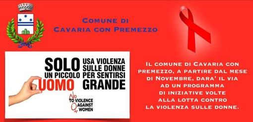 Tre giornate nel comune di Cavaria per l'eliminazione della violenza sulla donne