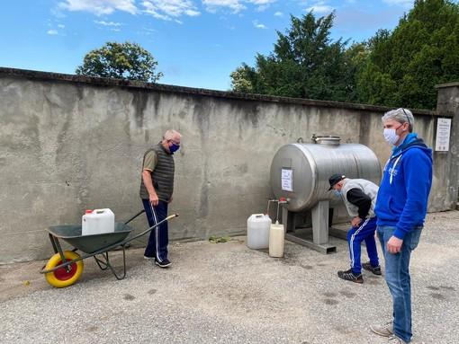 Acqua non potabile: ecco le vie in cui sono state posizionate le cisterne a Varese, Barasso e Comerio