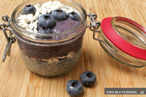 MercoledìVeg di Ortofruit: oggi prepariamo il chia blu pudding