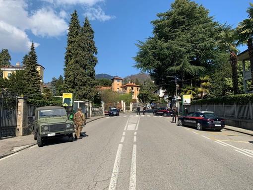 Esercito e carabinieri, ancora controlli sulle strade di Varese