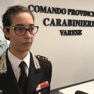 Il capitano Chiara Crupi è il nuovo comandante della Compagnia di Varese: «Essere vicini ai cittadini la nostra priorità»