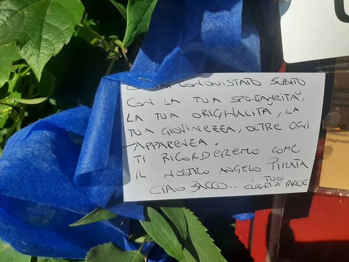 """Da Varese a Savona, quel messaggio commovente per la morte dell'oste Bacco: """"Ti ricorderemo come il nostro angelo pirata"""" (FOTO)"""