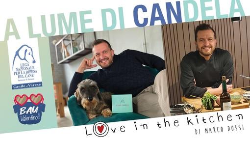 """""""A lume di CANdela"""": chef Marco Dossi e il team di Love in the kitchen cucinano per gli amici del canile di Varese"""