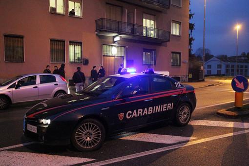 La caserma dei carabinieri di Gallarate
