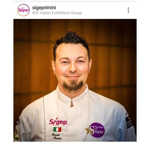 Il pasticcere Davide Pisano campione del mondo al Sigep di Rimini