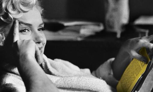 Una splendida Marilyn scelta come icona della manifestazione