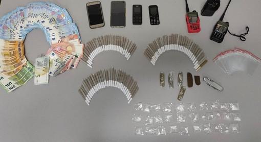 Fermato con cocaina e spinelli: cinquantenne arrestato dai carabinieri