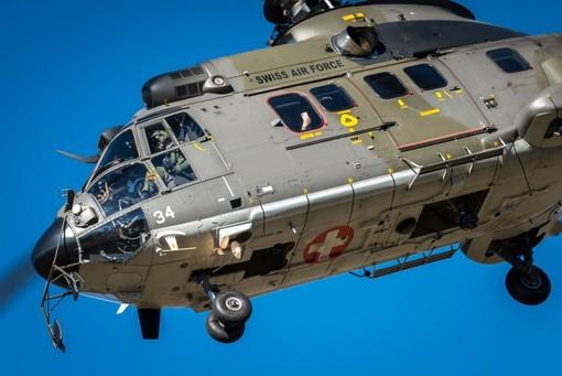 Un elicottero Super Puma elvetico (foto dal web)