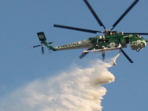 Lotta agli incendi nei boschi: a Clivio e Cassano Magnago due basi di pronto intervento per elicotteri