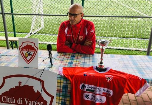 Ezio Rossi e un messaggio alla Peo Maroso: «Siamo ultimi. Non prometto nulla ma darò il mio cuore al Varese»