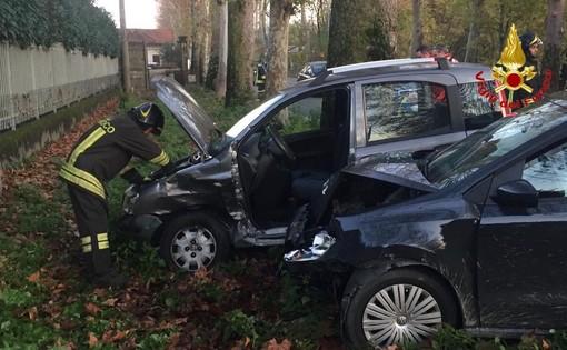 Busto Arsizio, schianto in viale Toscana: due feriti