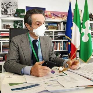 Fontana: «Dati assolutamente buoni, Lombardia in zona bianca anche settimana prossima»