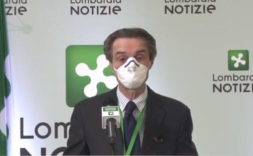 Lombardia in zona arancione, Fontana: «Ottima notizia, verità prevale su discredito. Algoritmo ISS era sbagliato»