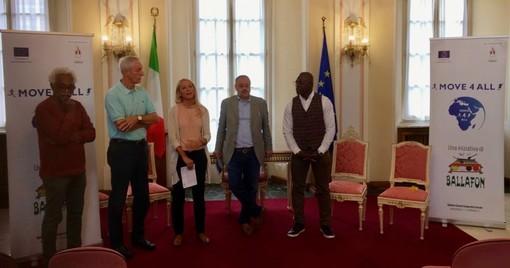 La presentazione della corsa è avvenuta a Palazzo Estense, sede del Comune di Varese