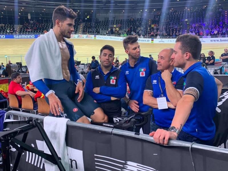 Ciclismo sulla pista, ai Mondiali di Berlino entusiasma il quartetto azzurro