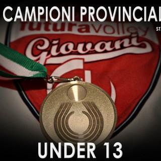 Futura Volley Giovani, l'Under 13 campione provinciale