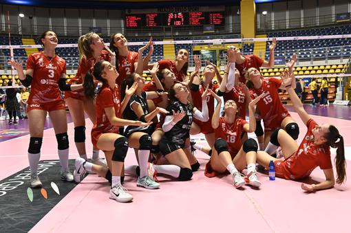 PALLAVOLO A2F. Prima vittoria esterna per la Futura Volley: un netto 3-0 in casa del Cus Torino