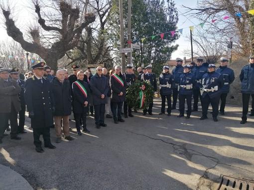 FOTO. Doppia festa a Bregazzana: si celebra San Sebastiano e la Polizia Locale