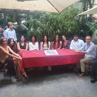 La squadra di Gente di Gallarate con Sonia Serati