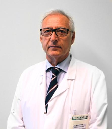 Il professor Giuseppe Spriano al quale verrà consegnato i Cairolino 2019